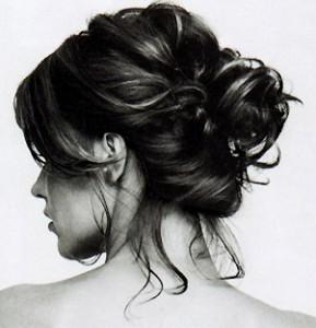домашняя прическа для длинных волос