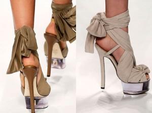 модная летняя женская обувь 2010