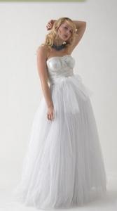 свадебное платье в стиле романтика