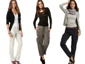 брюки женские 2010 осень