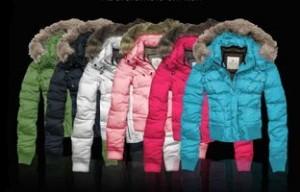 Зимние куртки с мехом фото