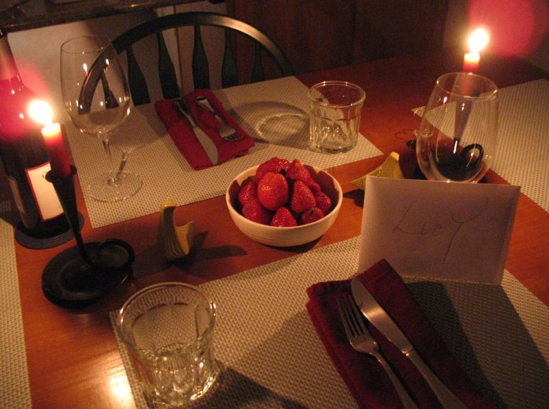первый фото оформления стола на романтический ужин простое экскаватора погрузчика экскаваторным