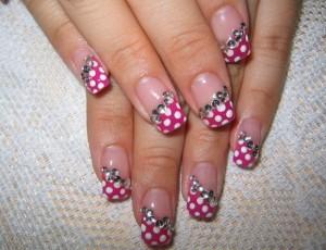 роспись на ногтях фото