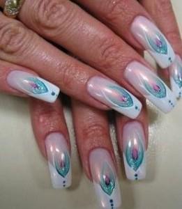рисунки на гелевых ногтях