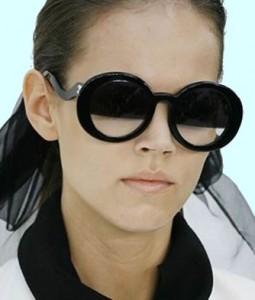 авангардные модные очки 2011