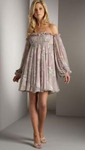 ампир платья