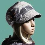Женская шапка 2014-2015