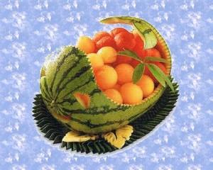 фруктовый карвинг