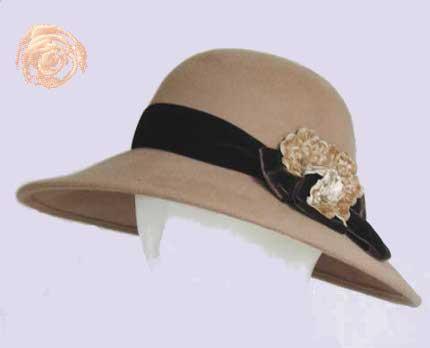 фетровые шляпы женские