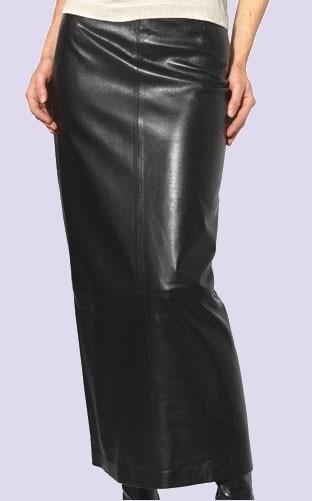 кожаные юбки макси 2014-2015