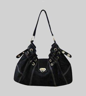 черные замшевые сумки.