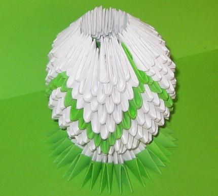 Модульное оригами цветы лотос