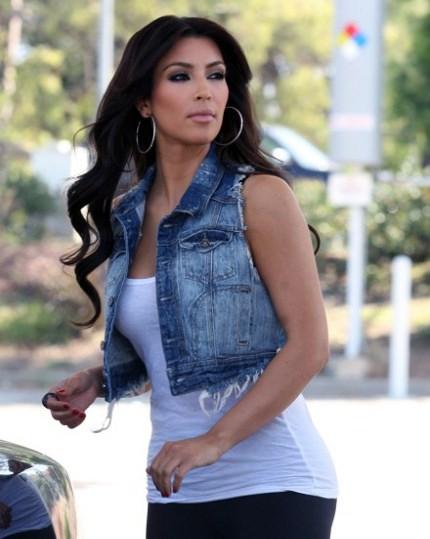Модные джинсовые жилетки 2014