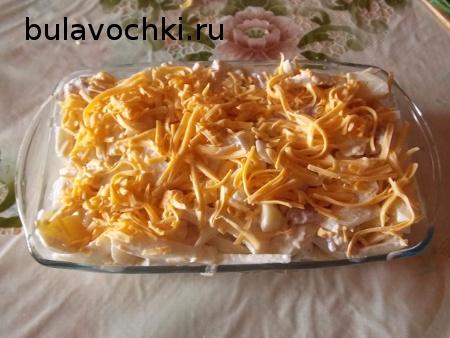 как приготовить креветки в домашних условиях, японская айва.  Описание: Поставить картофель в духовку и запекать при...