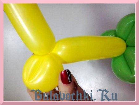 моделирование из воздушных шаров.