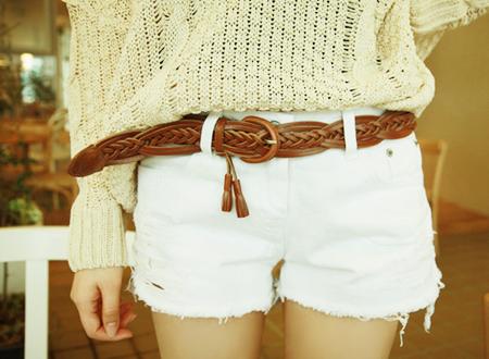 Короткие шорты в стиле swag