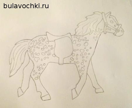 Изображение лошадки