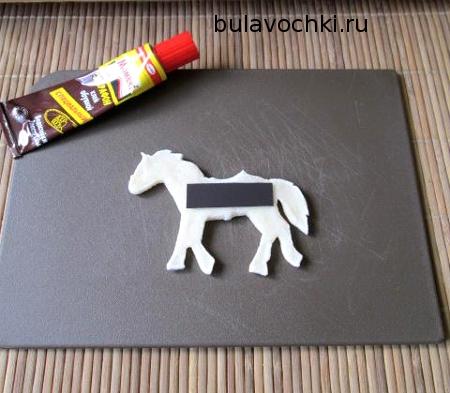 Магнит на лошадке