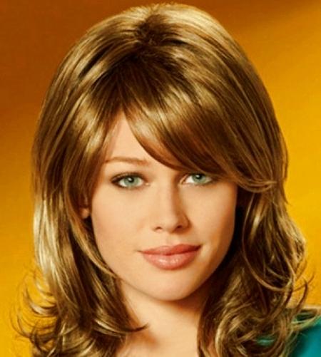 Модные причёски 2014 на средние волосы