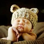Вязаная чепчик для новорожденного своими руками фото 284