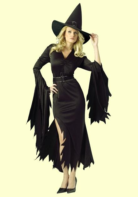 Костюм ведьмы на хэллоуин своими руками - photo#49