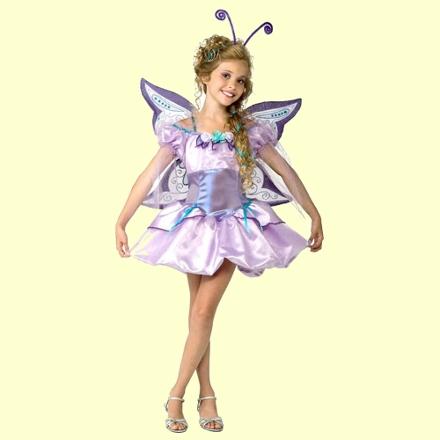 Прическа феи для девочки