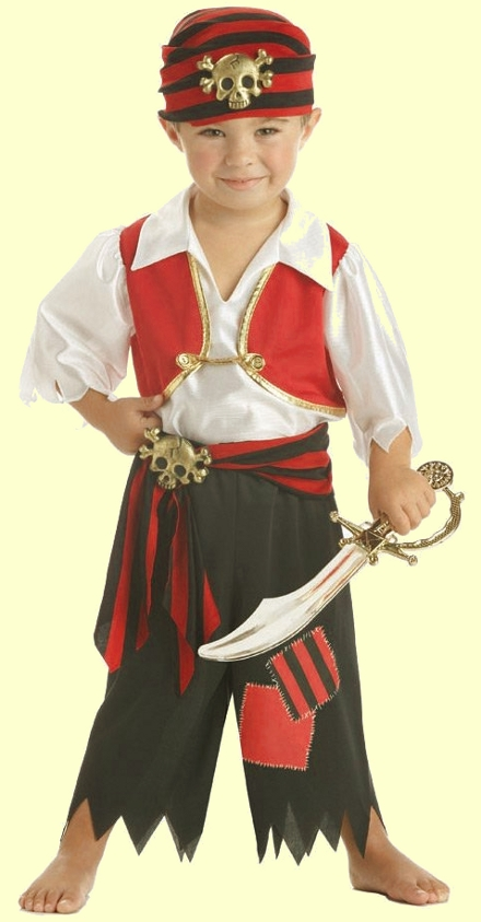 Костюм пирата для мальчика фото своими руками