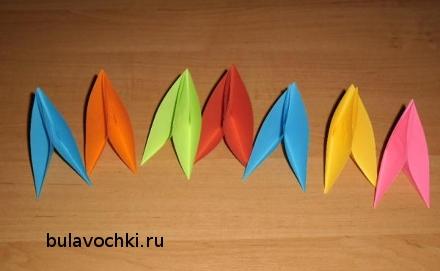 Игрушка из цветной бумаги сделать своими руками