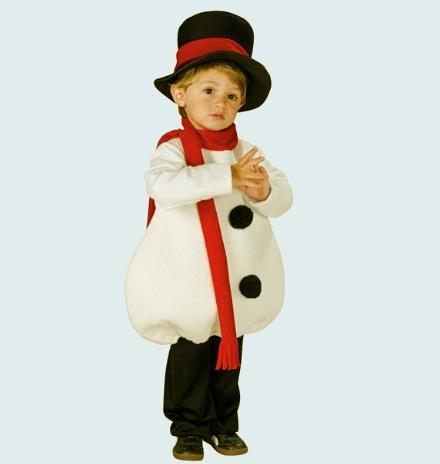Новогодние костюмы для мальчиков снеговик своими руками