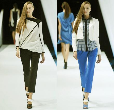 Модные брюки весна лето 2014 для полных