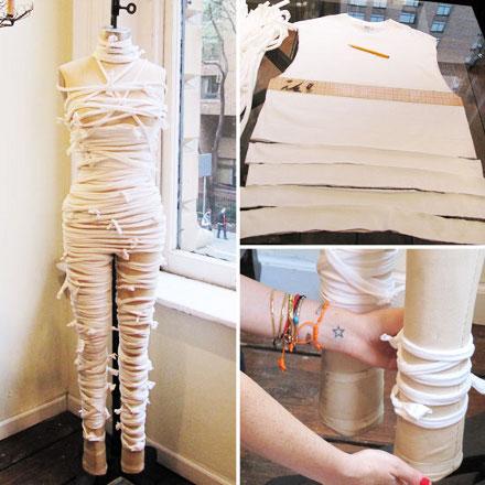 Как сделать мумия своими руками