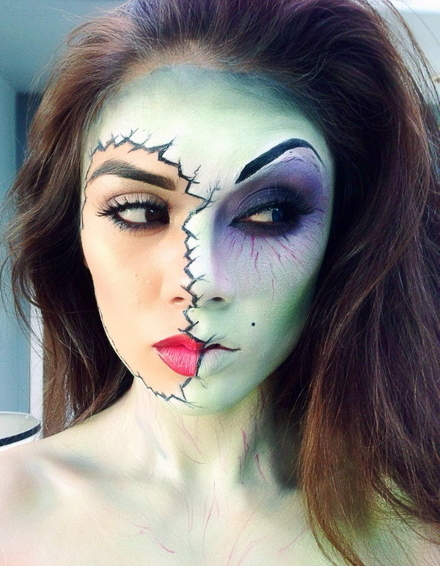 образ на хэллоуин зомби