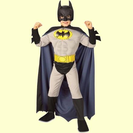 Костюм Бэтмена для детей: новогодний наряд 22