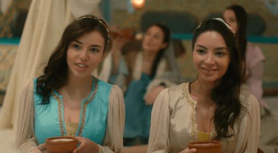 Девушки из гарема Махмуда II
