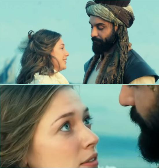 Анна и Махмуд на пристани