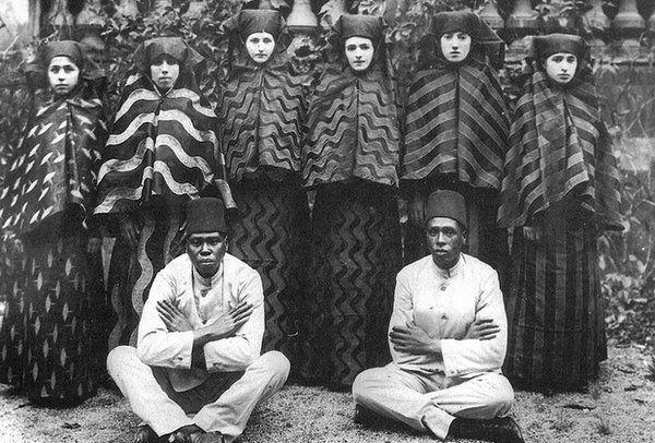 Чернокожие евнухи