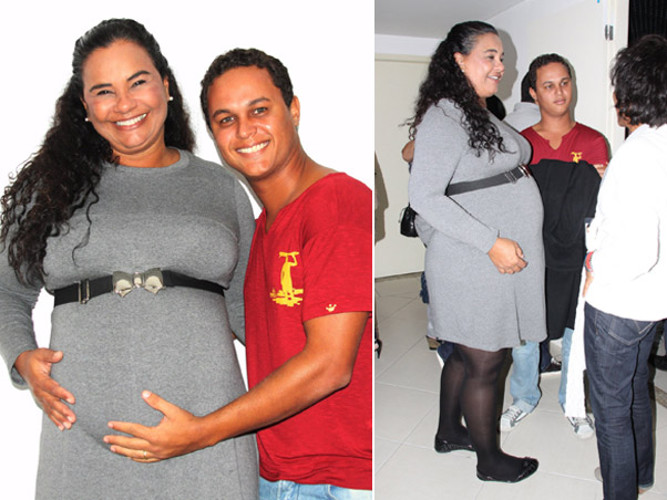 Соланж беременна