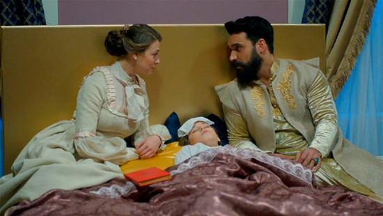 Махмуд и Анна у постели Абдула-Меджида