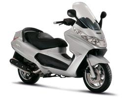 Двухместный скутер
