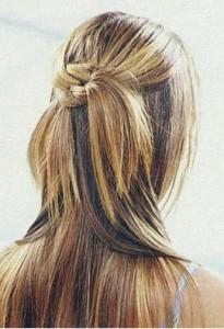 красивая прическа для длинных волос