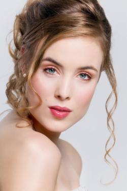 свадебный макияж, фото