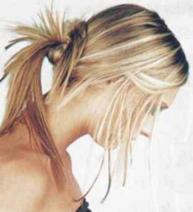 оригинальная прическа для длинных волос