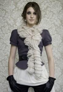 ажурные шарфы