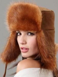шапки меховые женские