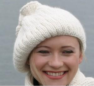 модные шапки вязаные 2014-2015