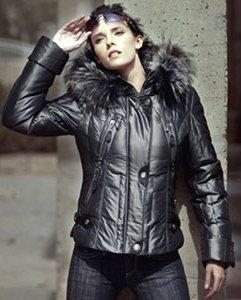 модная зимняя куртка