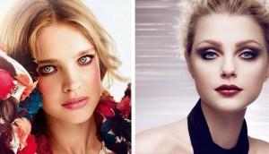 модный макияж зимы 2014-2015