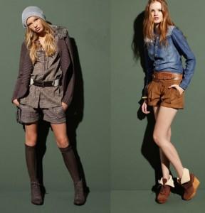 модные шорты зимой 2014-2015