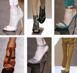 женская обувь весна 2011