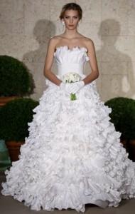 пышные свадебные платья 2011